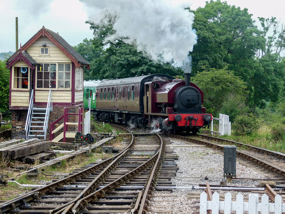 Summer Steam gala on 21 July 2013